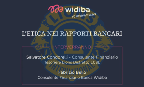 Lions Clubs International – L'etica nei rapporti bancari