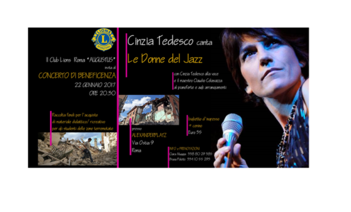 "Cinzia Tedesco canta: ""Le donne del Jazz"""