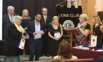 Cosa c'è di meglio per un Lions Club che cominciare l'anno con l'ingresso di nuovi Soci?