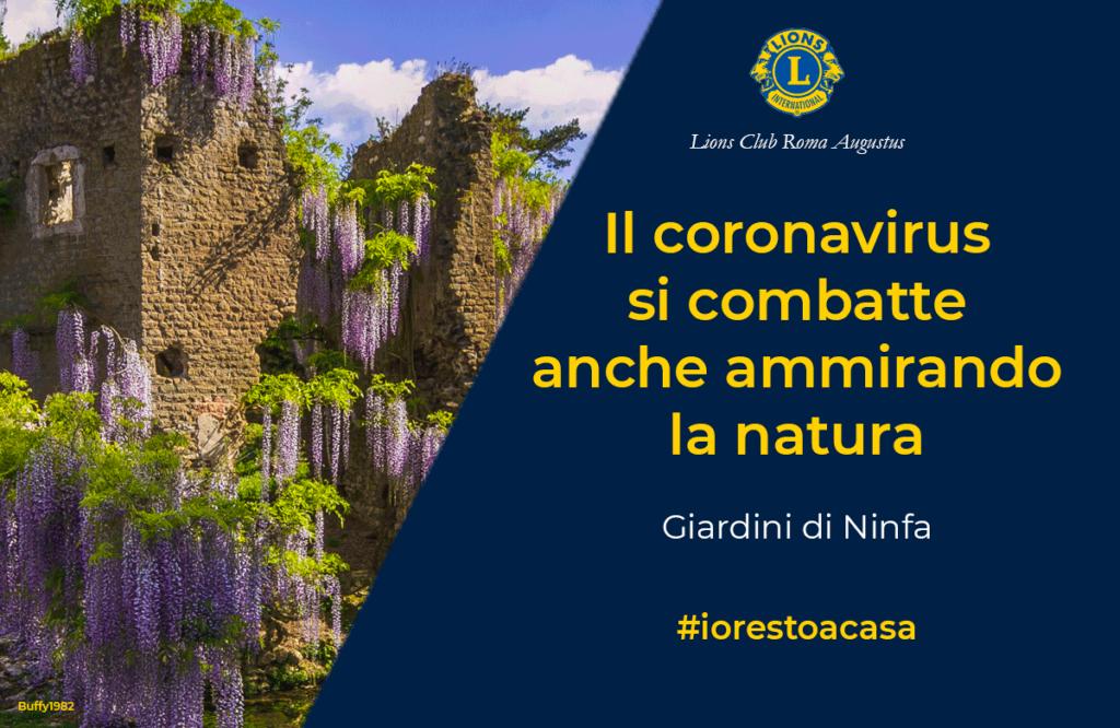 In attesa di poter visitare il giardino che il New York Times considera il più bello del mondo, Il Lions Club Roma Augustus suggerisce a chi è costretto a restare a casa per l'emergenza coronavirus la pagina FB dei Giardini di Ninfa, https://www.facebook.com/567298083379336/posts/2717378328371290/?d=n e il tour virtuale fruibile a questo indirizzo https://video.repubblica.it/…/coronavirus-i-…/356525/357090… Buona passeggiata