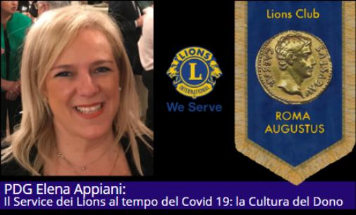 """Elena Appiani """"Il service dei Lions al tempo del covid: la Cultura del Dono"""""""
