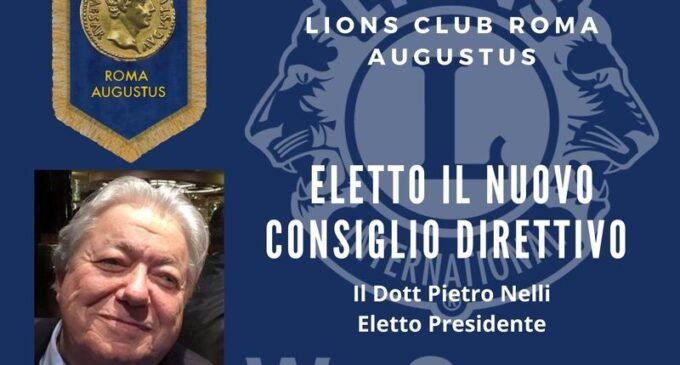 Eletto il nuovo Consiglio Direttivo del Lions Club Roma Augustus